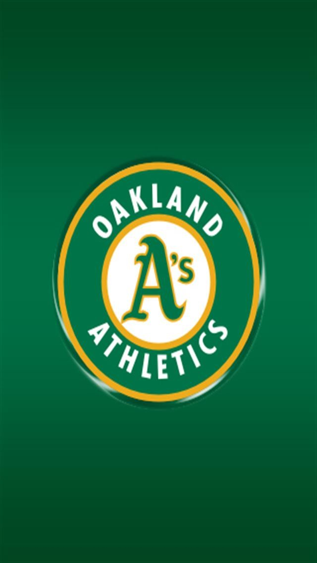 Oakland Athletics Sports IPhone Wallpapers 5s4s3G 640x1136