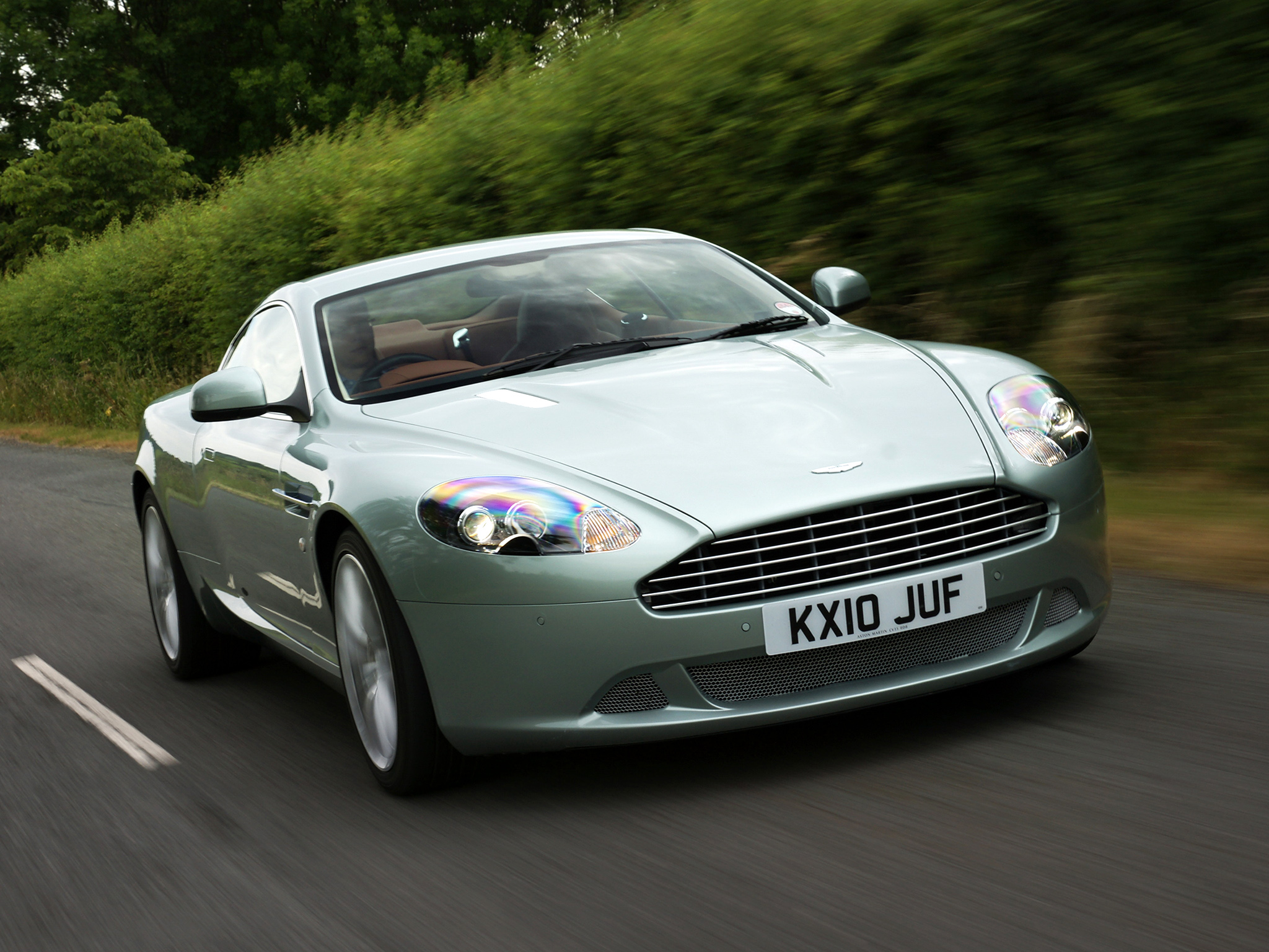Aston Martin DB9 UK spec Wallpapers Car wallpapers HD 2048x1536
