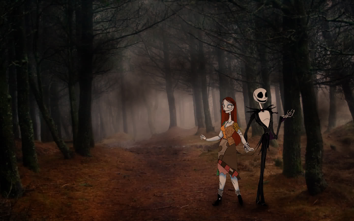 Jack And Sally Wallpapers Group 64 1440x900
