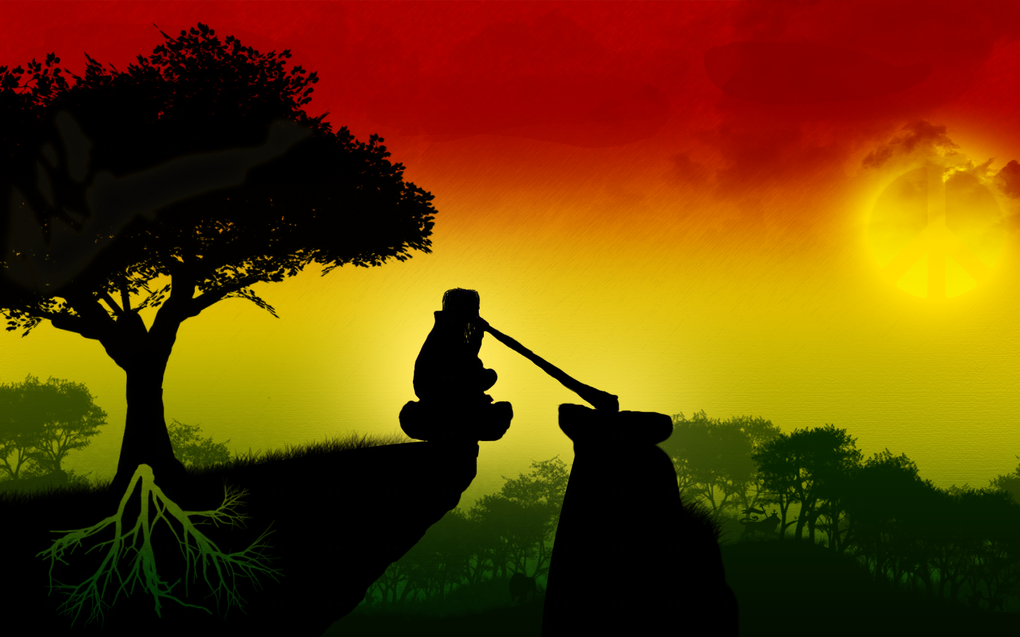 Wallpaper iphone rasta - Rasta Lion Wallpaper 1440 900 High Definition Wallpaper