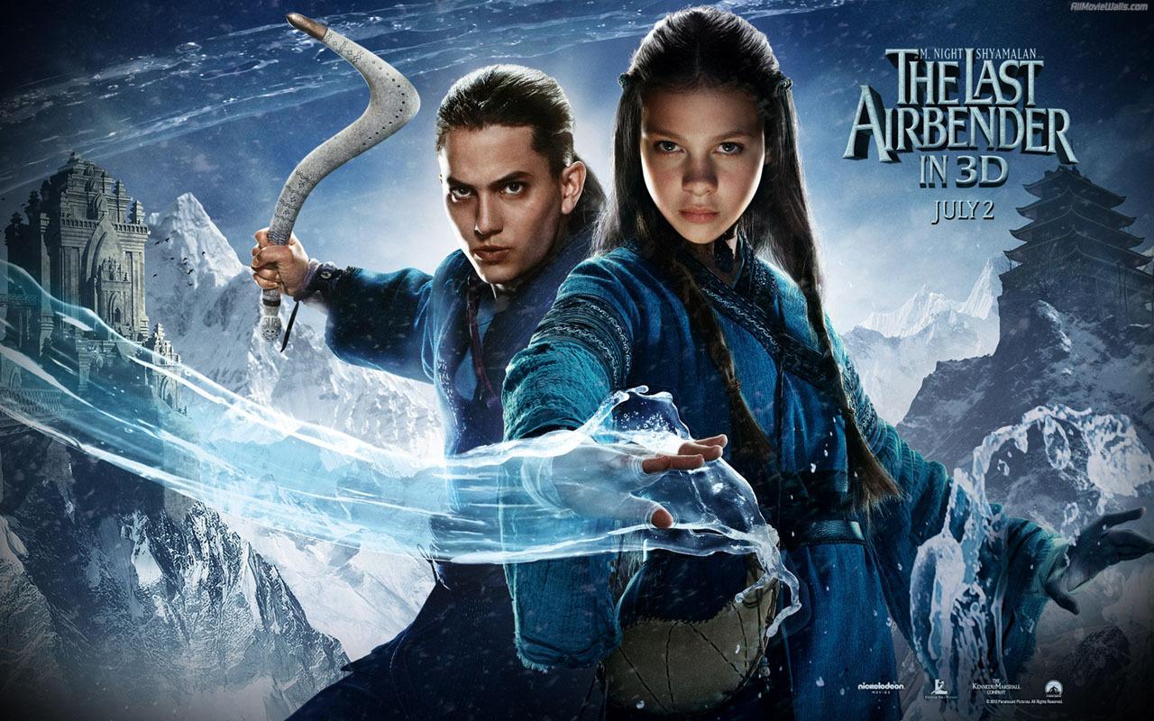 The Last Airbender   Movies Wallpaper 14609503 1280x800