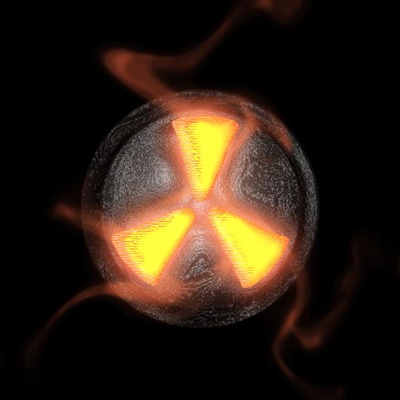 Nuke Symbol Wallpaper Nuke logo by theoriginalbw 576x576