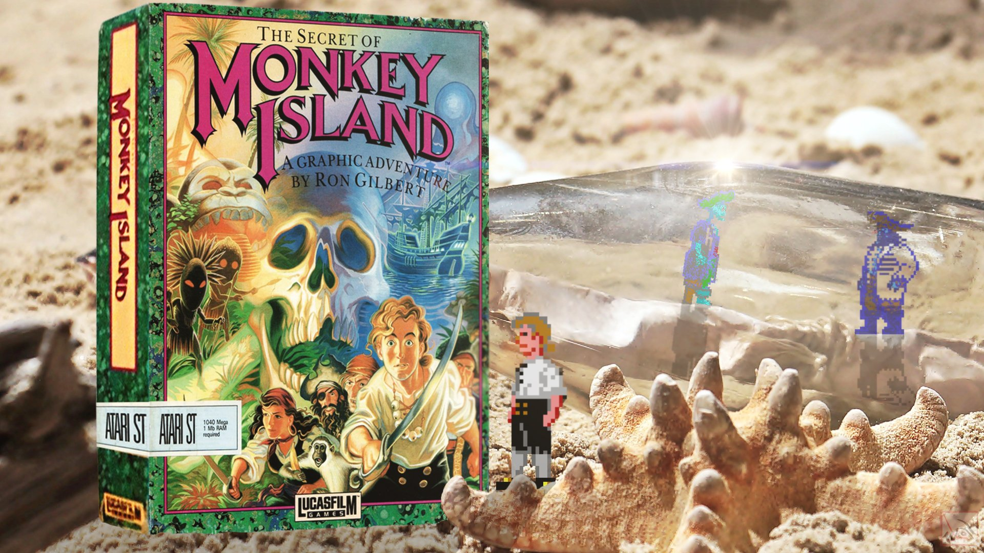Free Download Monkey Island From Lucasfilm Games Wasabim