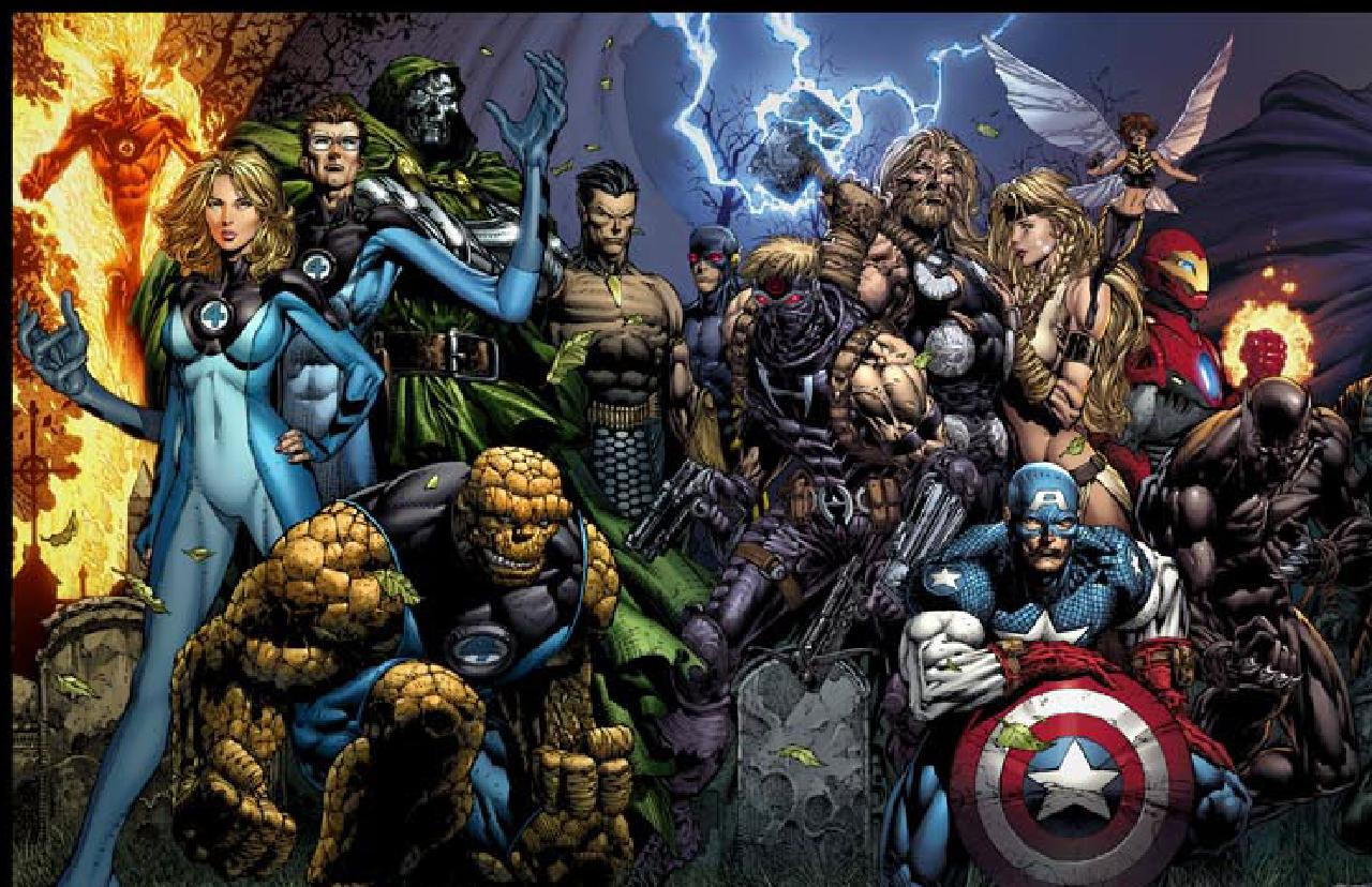 72 marvel characters wallpaper on wallpapersafari - All marvel heroes wallpaper ...