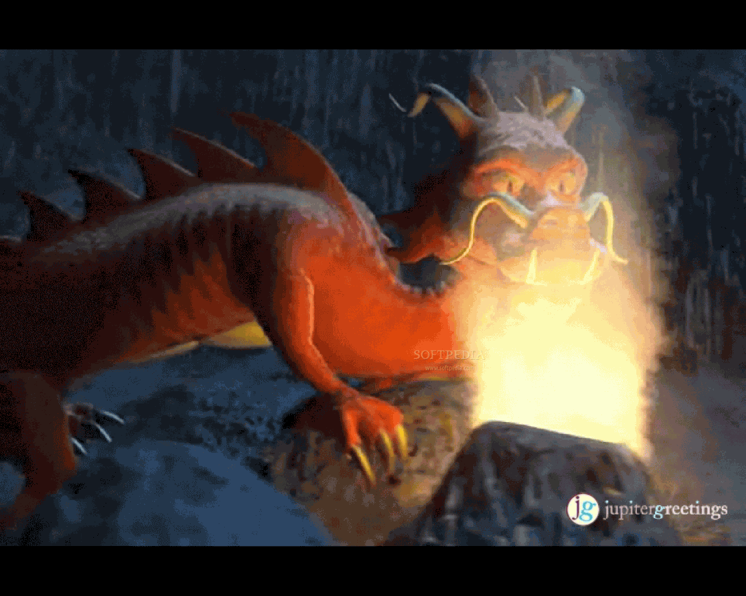 dragon screensaver fire dragon wallpaper dragon animation screensaver 1088x870