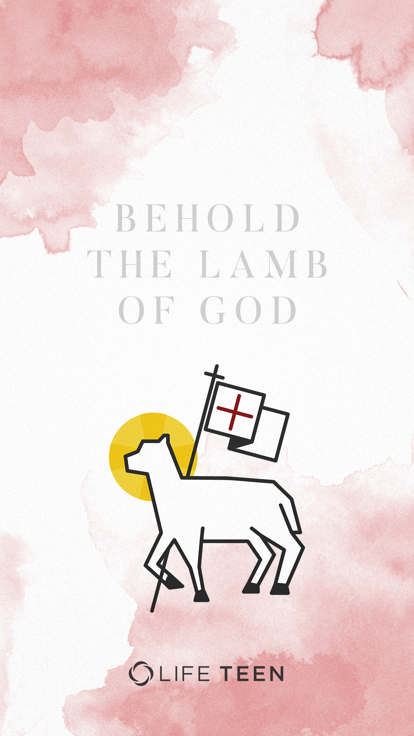 Behold the Lamb of God Easter Wallpaper   LifeTeencom for 1440x2560