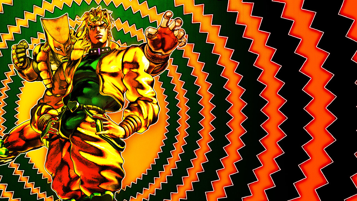 DIO and The World JJBA Wallpaper by Franky4FingersX2 1191x670
