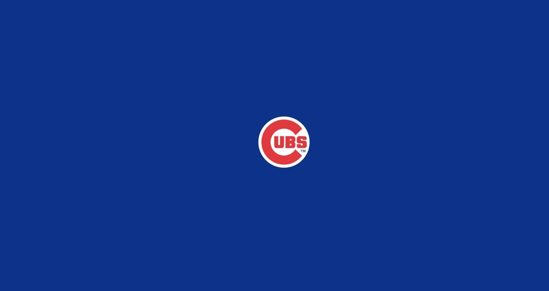 wallpapers logos chicago cubs wallpaper 1920x1019