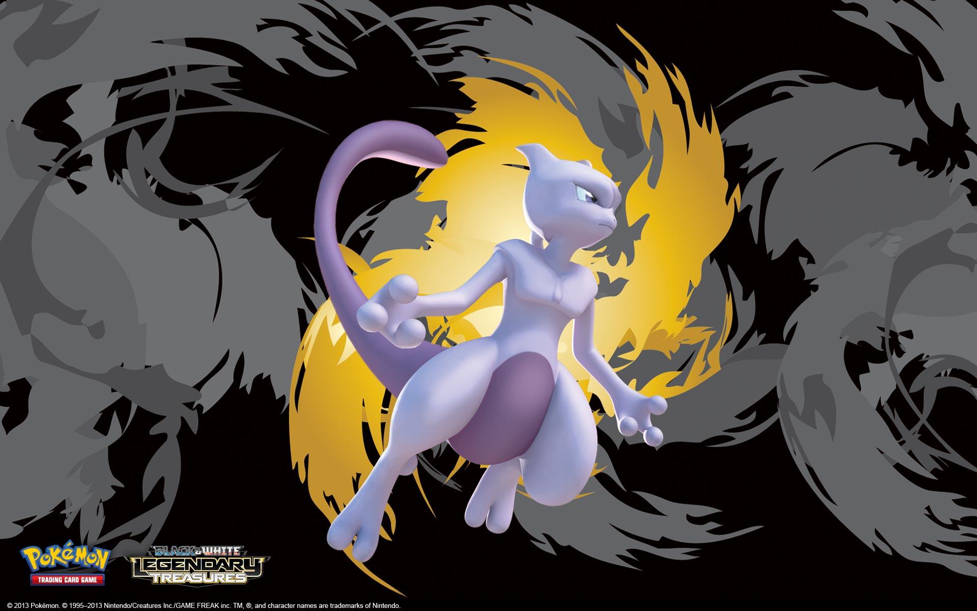Pics Photos   Mewtwo Legendary Pokemon Wallpaper 34844504 1920x1200