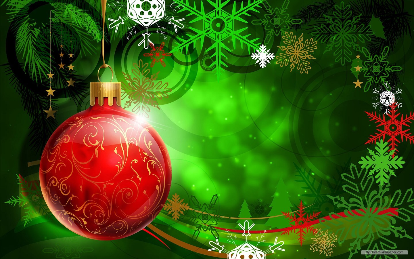 wallpaper holiday christmas theme background 1440x900