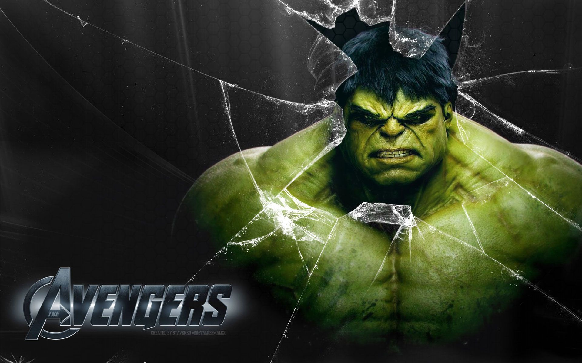 Download Wallpaper Avenger Hulk Character HD claudia 1920x1200