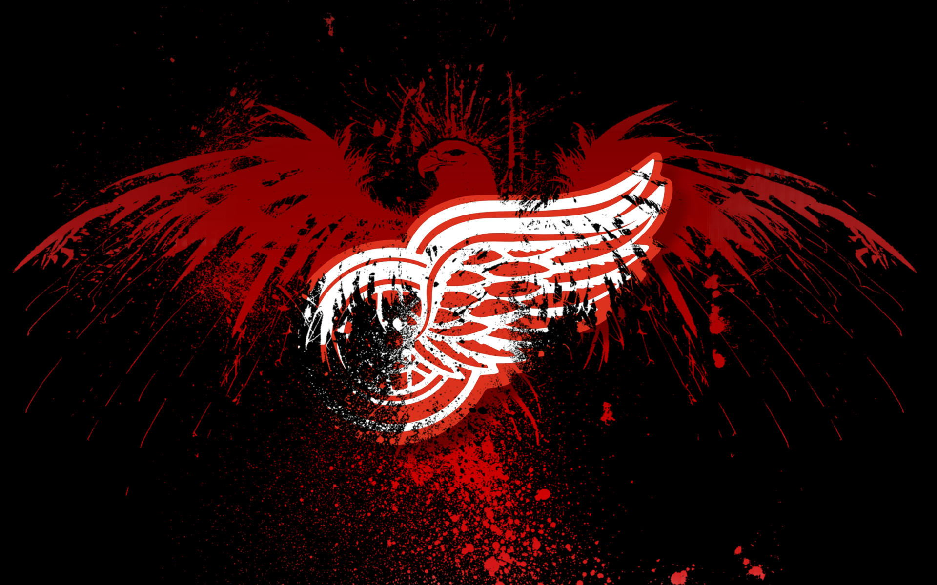 HD Detroit Red Wings Wallpapers 1920x1200