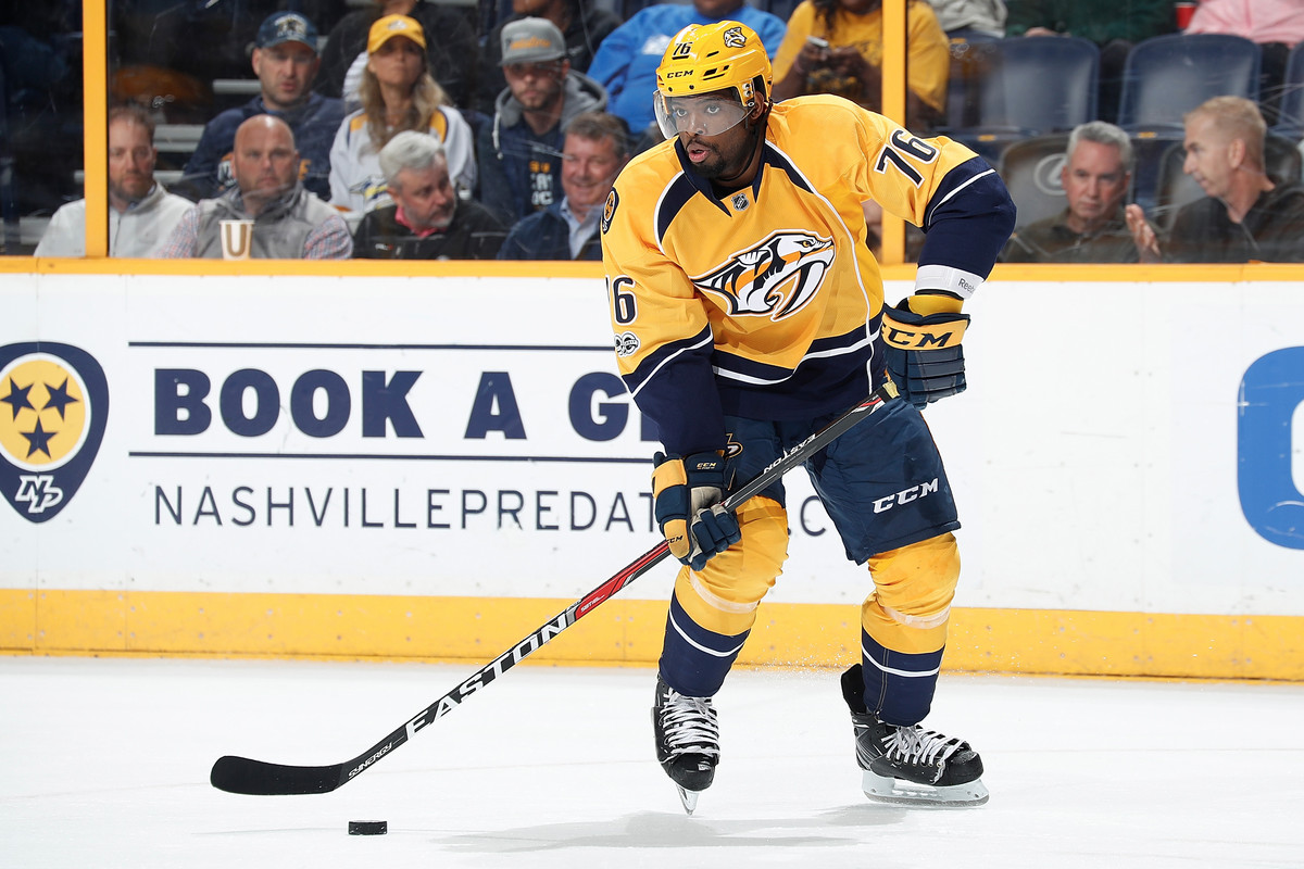 PK Subban Wants to Fix the NHLs Schedule   The Ringer 1200x800
