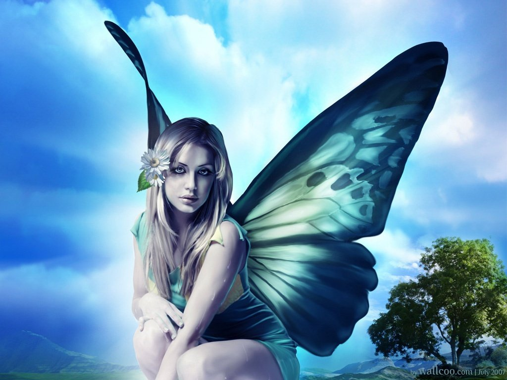 A Place For HD Wallpapers Desktop Wallpapers Fairy 1024x768