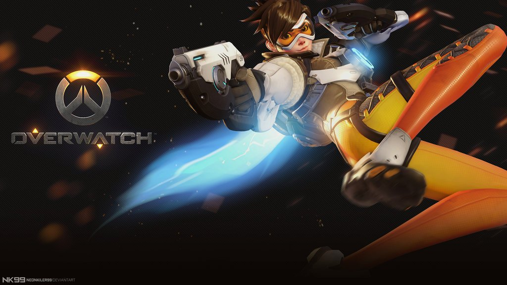 Free Download Overwatch Tracer 1080p By Neonkiler99