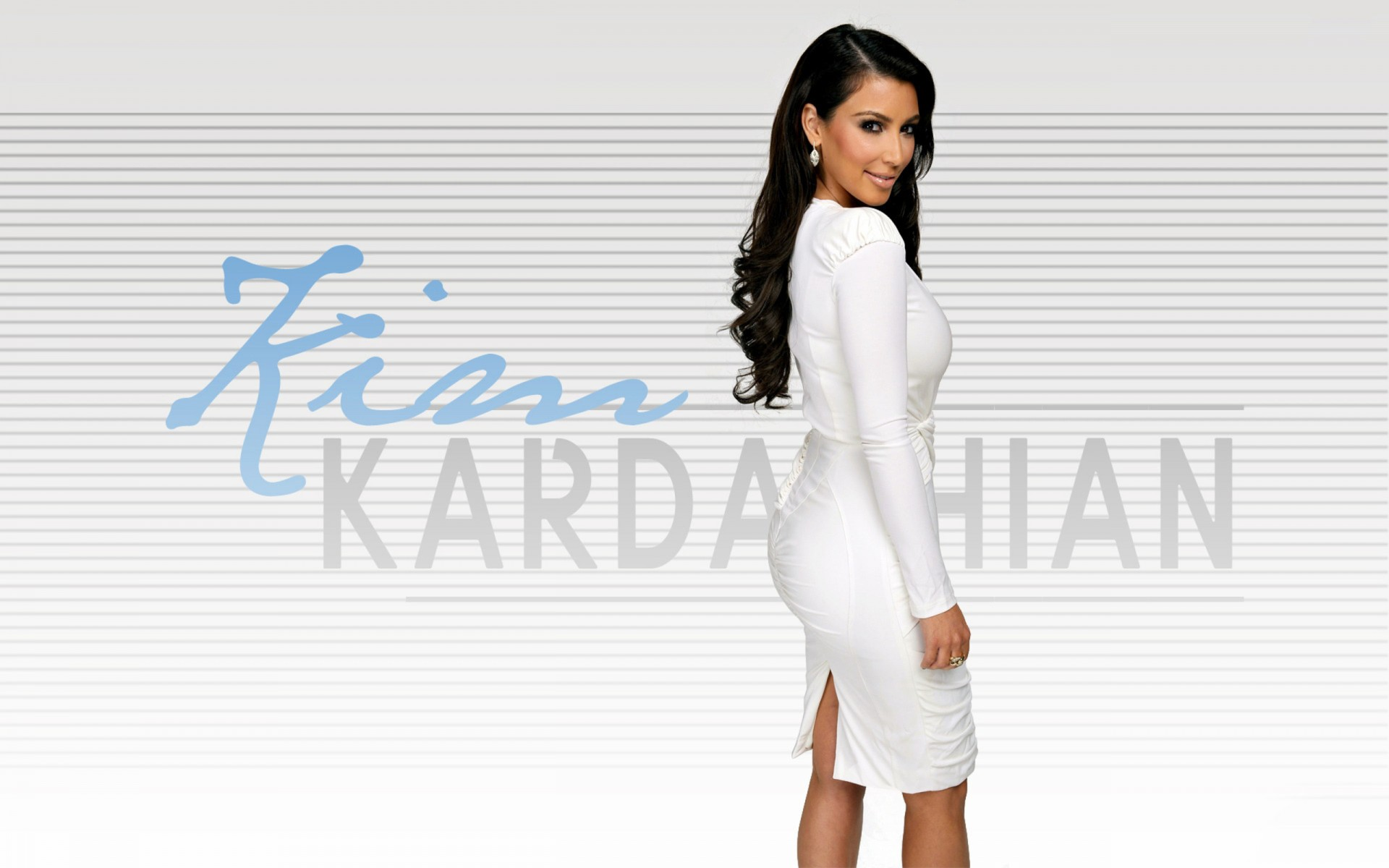 Wallpaper Kim Kardashian Backgrounds 1920x1200