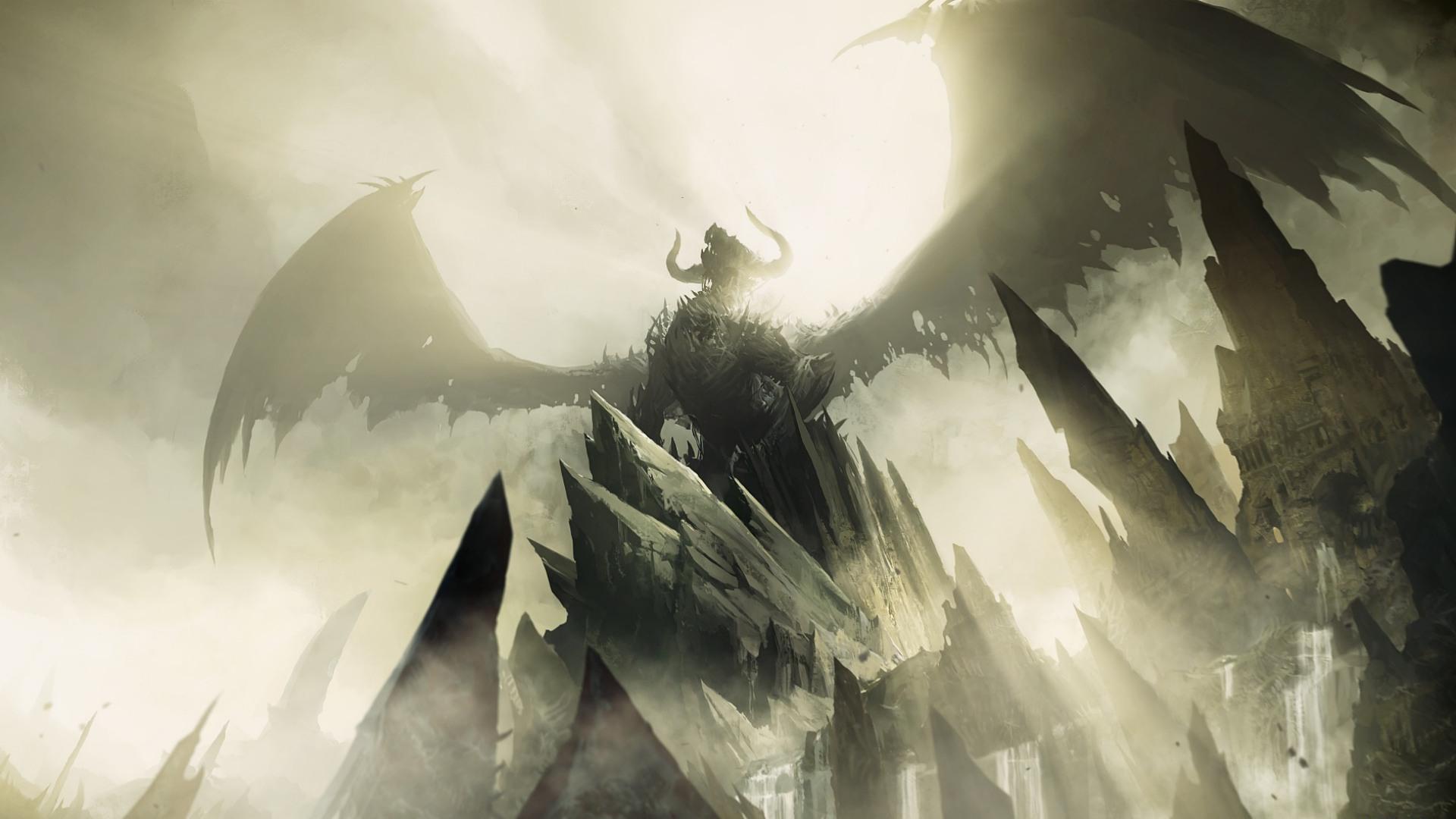 fallen angel 1920x1080