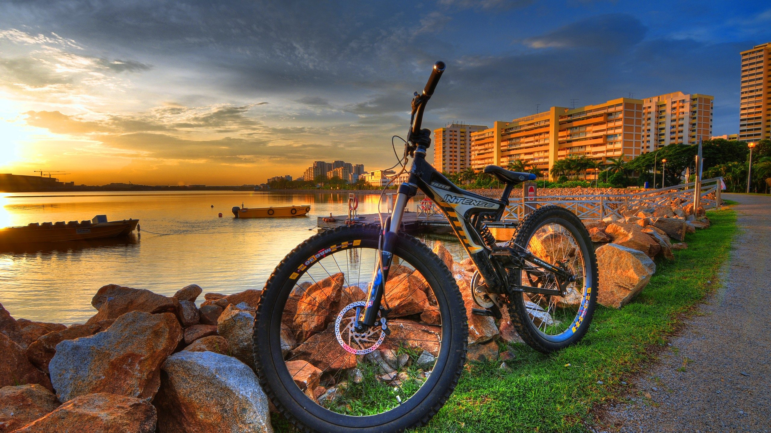 beautiful mountain bike hd wallpaper for top desktop background 2560x1440