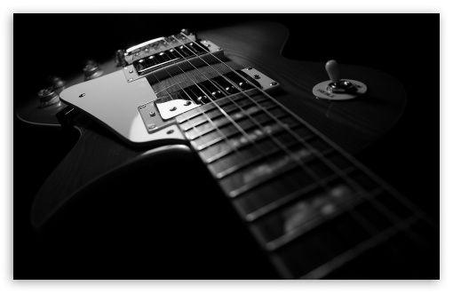 Black Guitar digital wallpapers black wallpapers wallpaper pictures 510x330