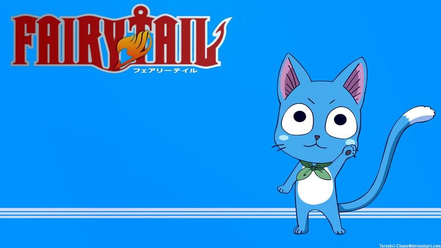 Fairy Tail Happy wallpaper by Toreshii Chann 900x506
