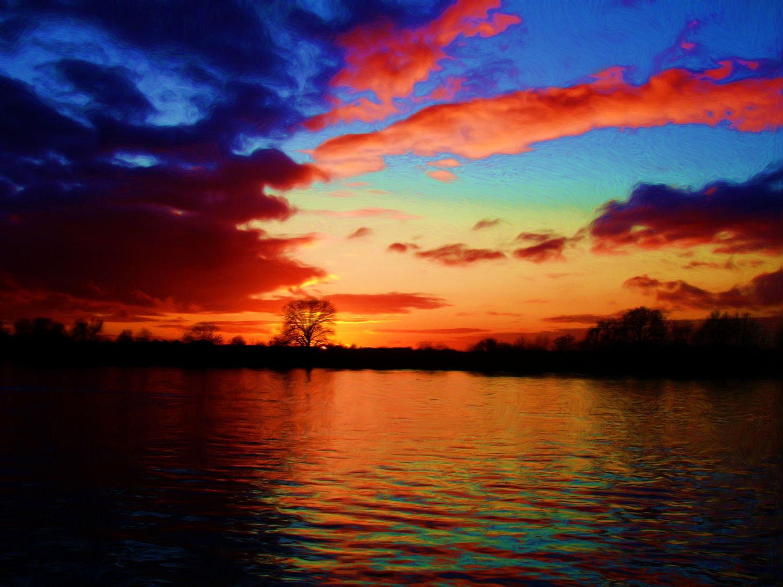 Hd Wallpapers High Definition: Winter Sunset HD Wallpaper