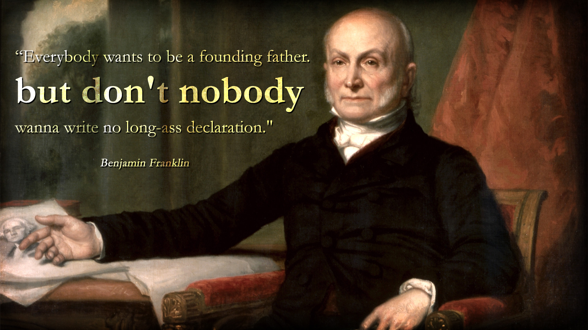 Founding Fathers Wallpaper 1920x1080