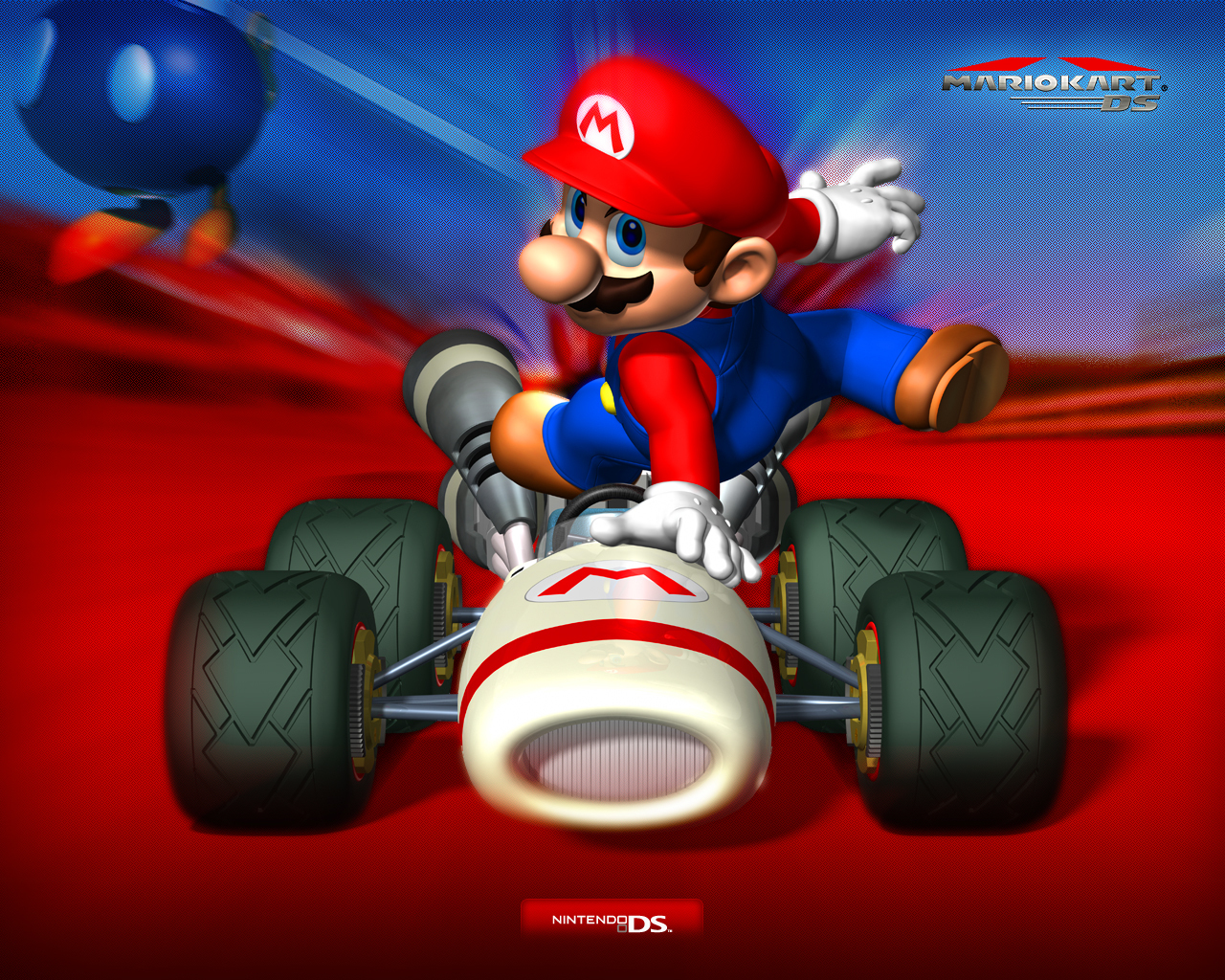 Mario Kart Wallpaper Super Bros 5313947 1280x1024