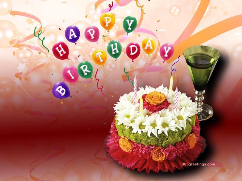 happy Birthday wishes wallpaperjpg 800x600
