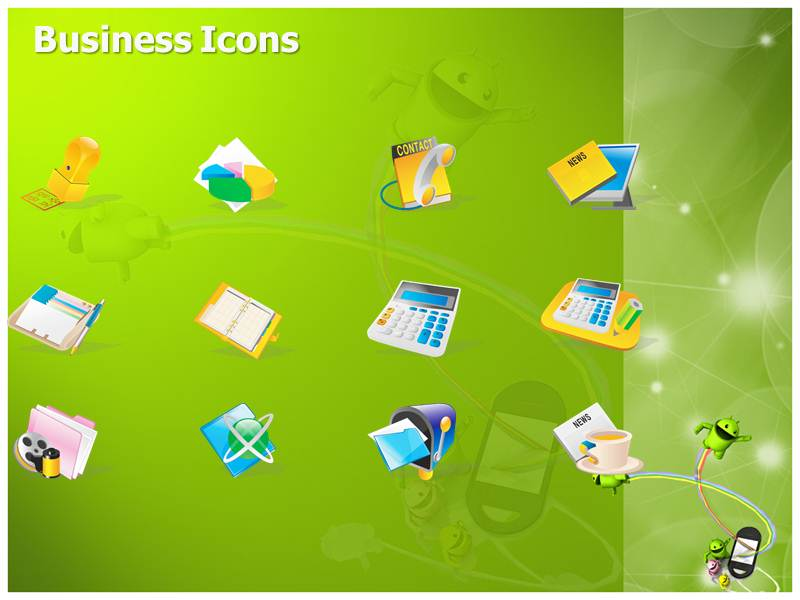 Presentation On Android Template Ppt Background On Android 800x600
