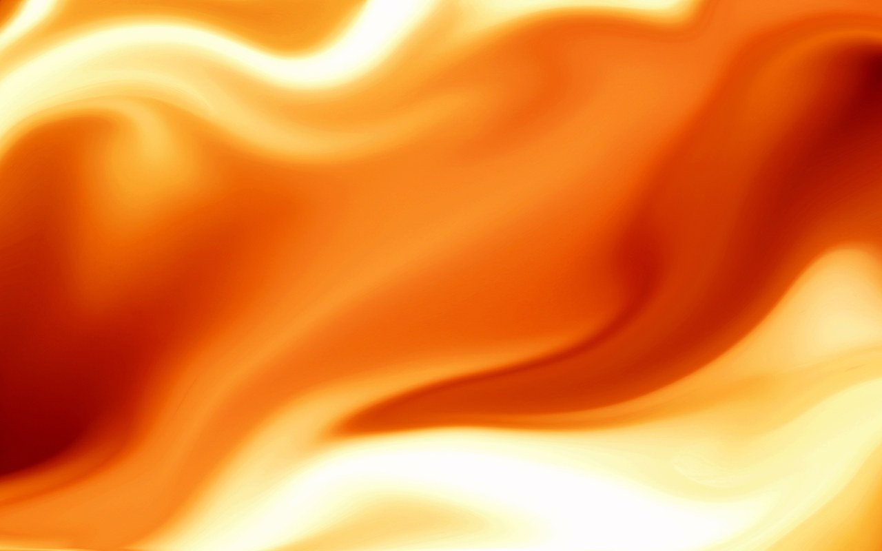 Orange colour waves Background Wallpaper for PowerPoint Presentations 1280x800