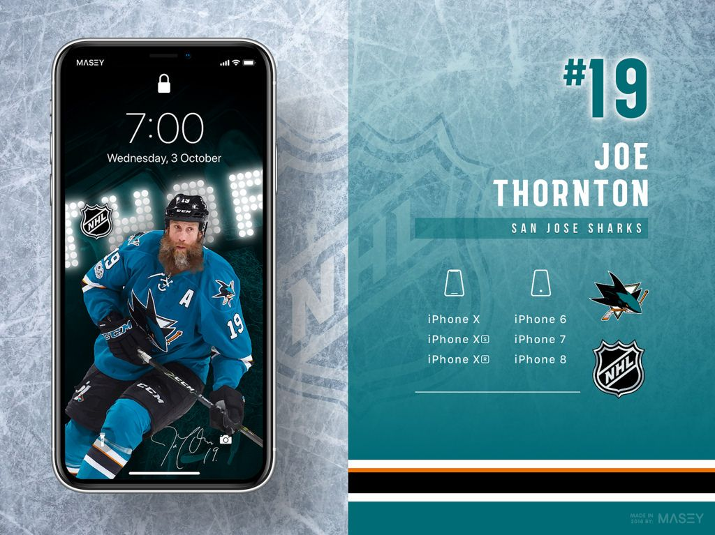 Joe Thornton San Jose Sharks iPhone Wallpaper Screen Candy 1024x767