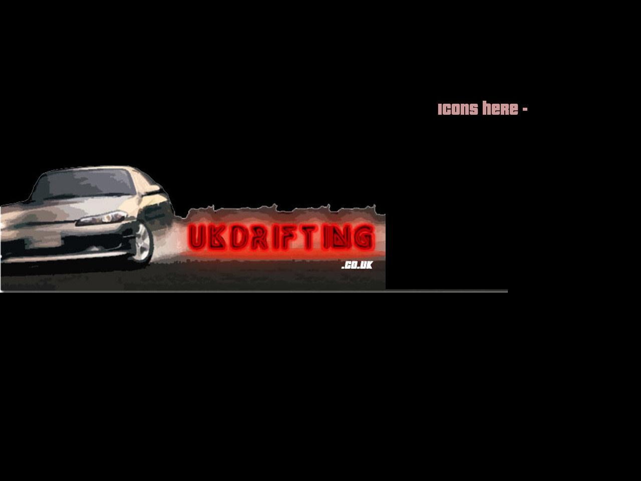 UK Drifting wallpaper featuring an Nissan Silvia and the UK Drifting 1280x960