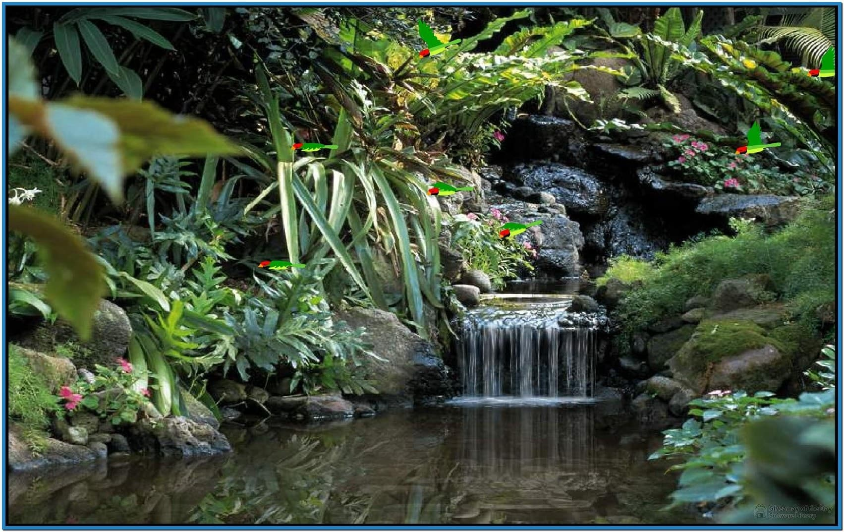 free living waterfall screensavers Car Pictures 1703x1073