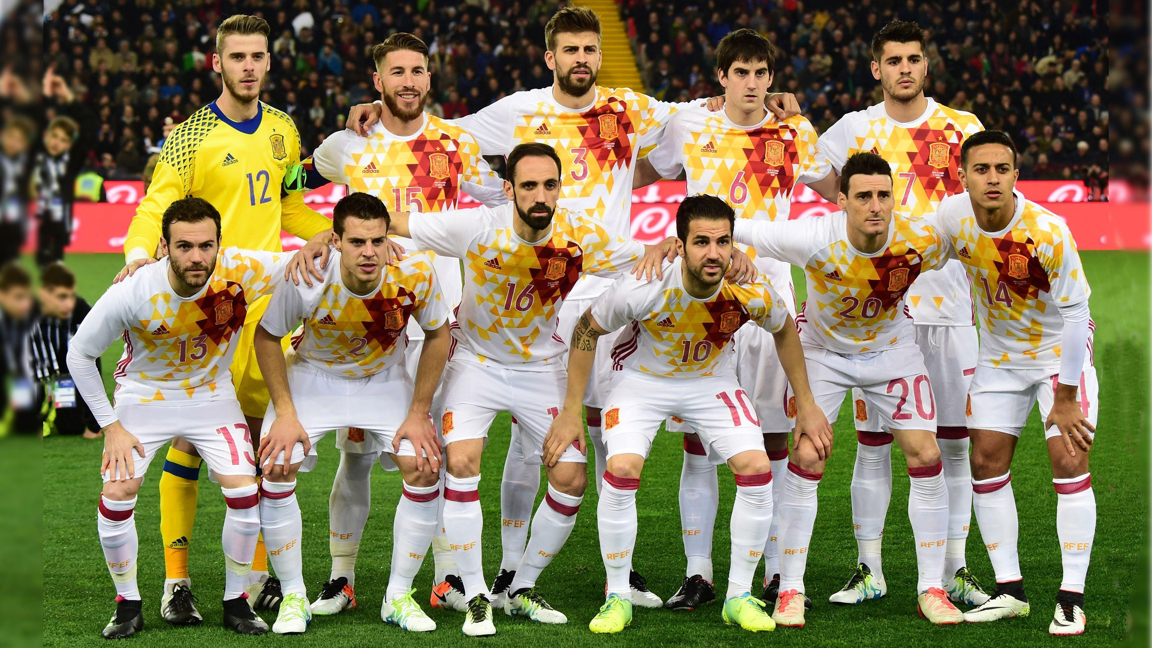 Spain National Team Wallpapers 2016 3840x2160
