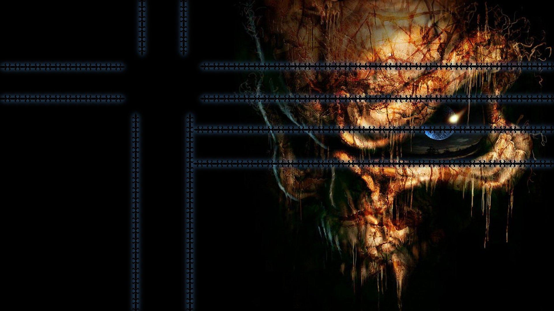 Dark Skull Backgrounds 1920 X 1080 1920x1080