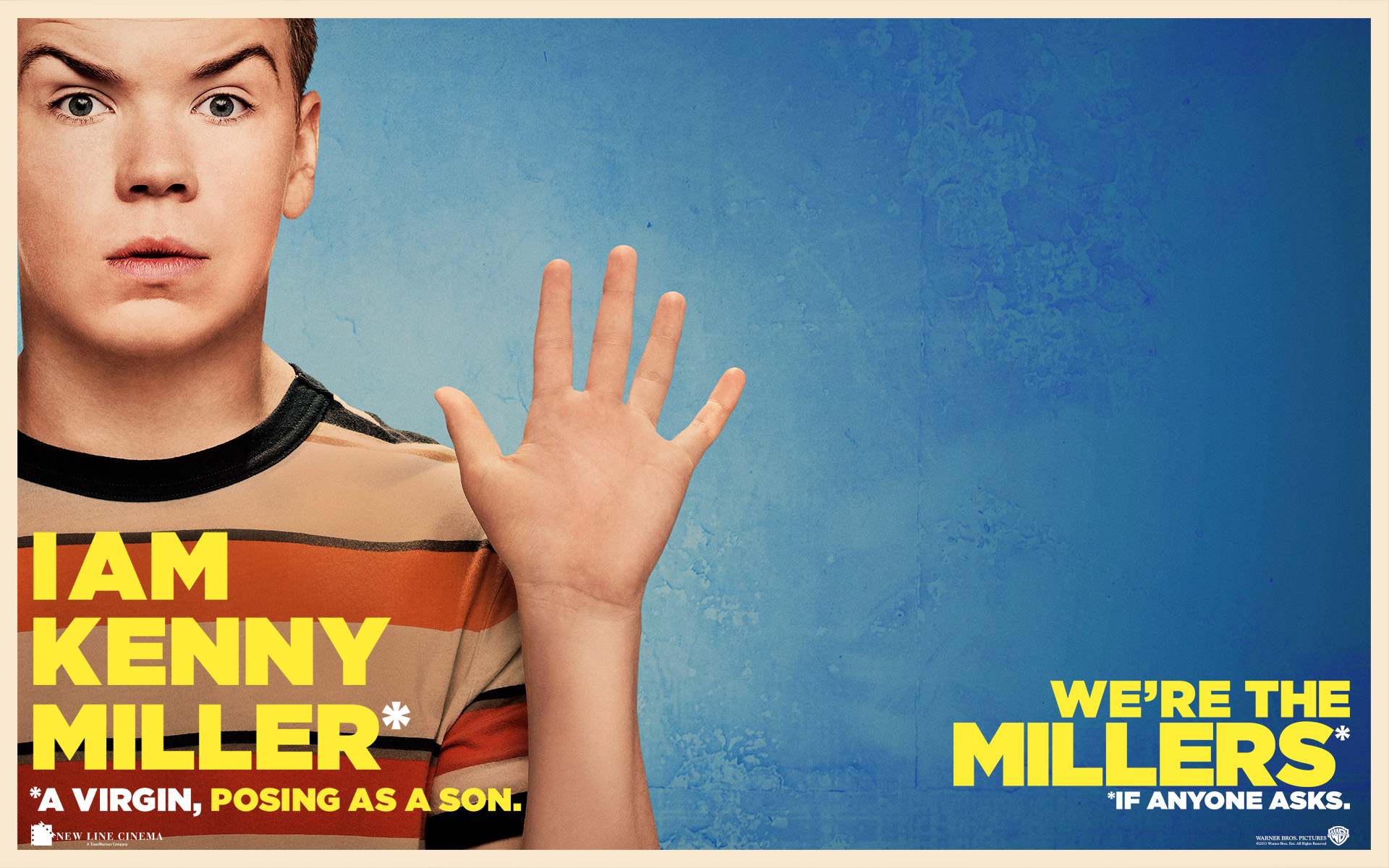 Will Poulter as Kenny Miller Were The Millers Live HD 1920x1200