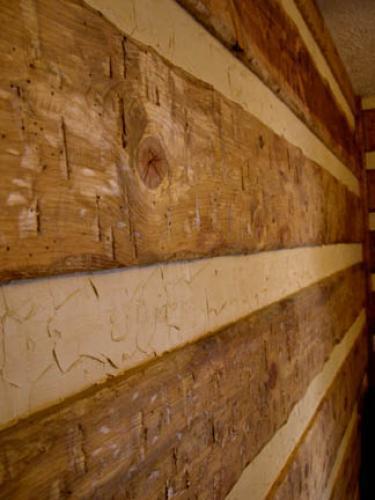 Fake Log Cabin DoItYourselfcom 375x500