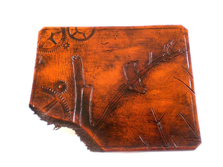 Steampunk Leather Wall Art by Skinz N Hydez 900x675