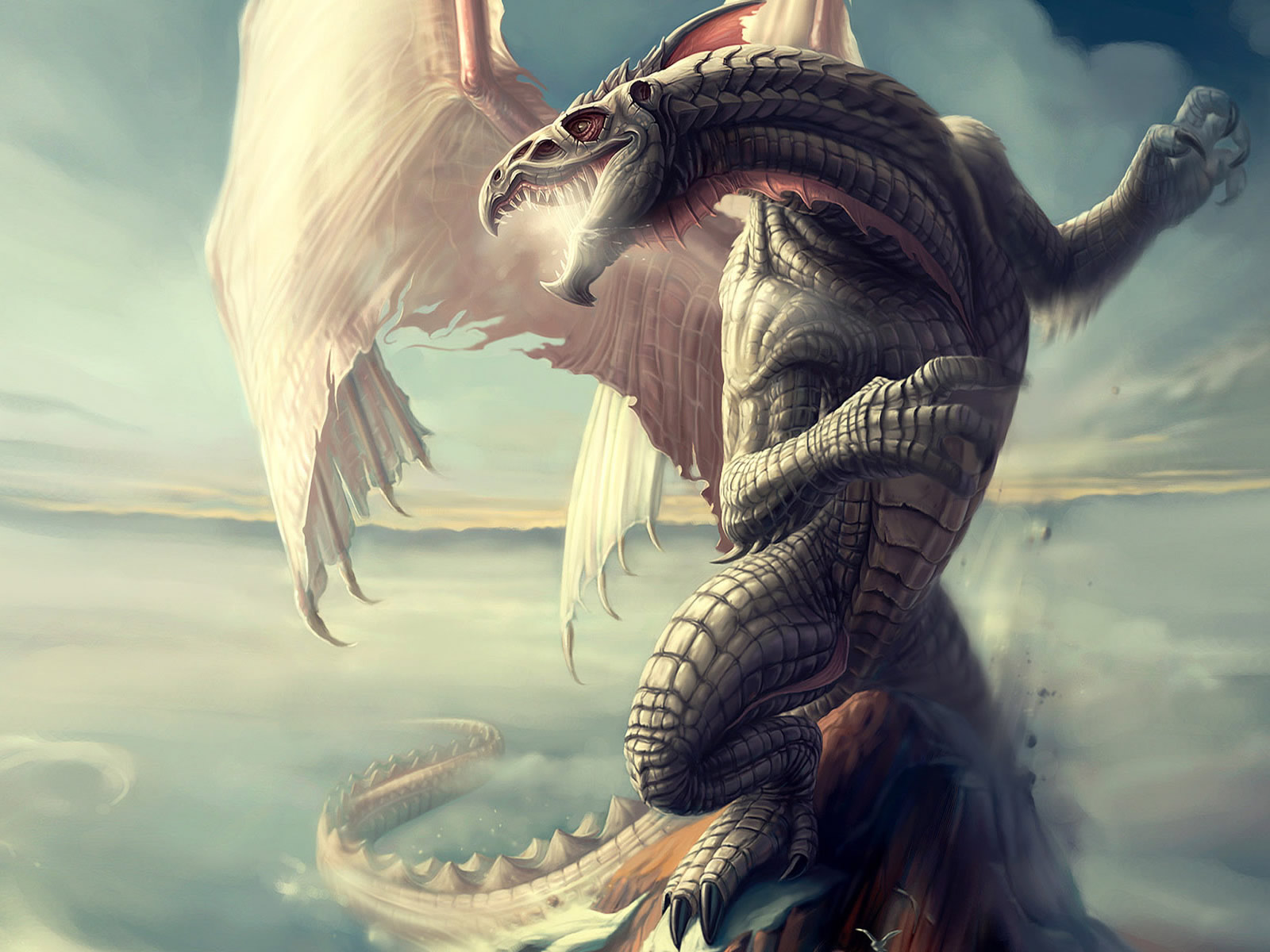 3D Dragon Fantacy HD Wallpaper 3D Abstract Wallpapers 1600x1200