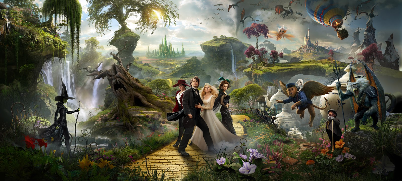Free Download Fiction Oz The Great And Powerful Desktop Wallpaper