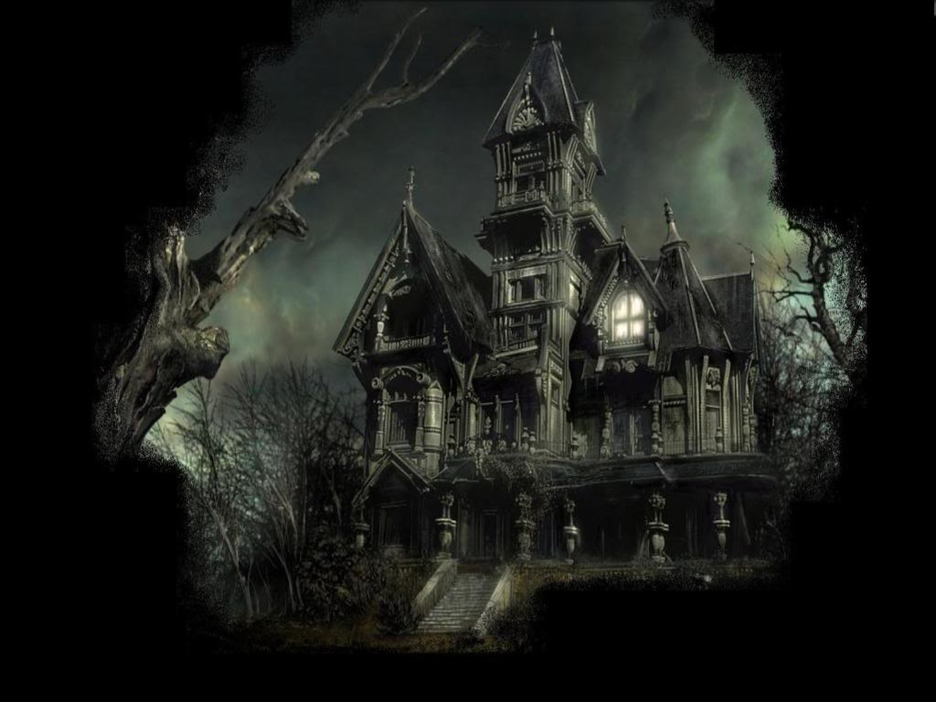 The Haunted Lamp Mansion HTML Code