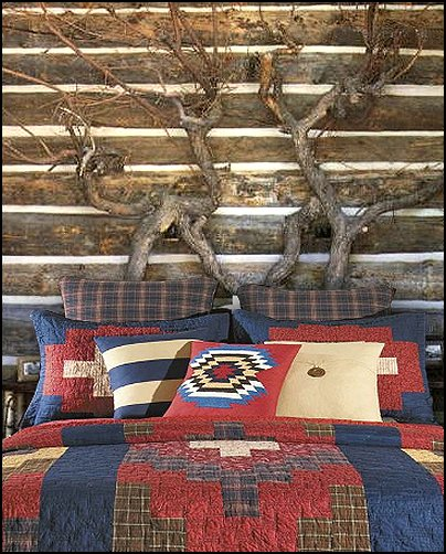 Lodge and Cabin Bedding 404x502