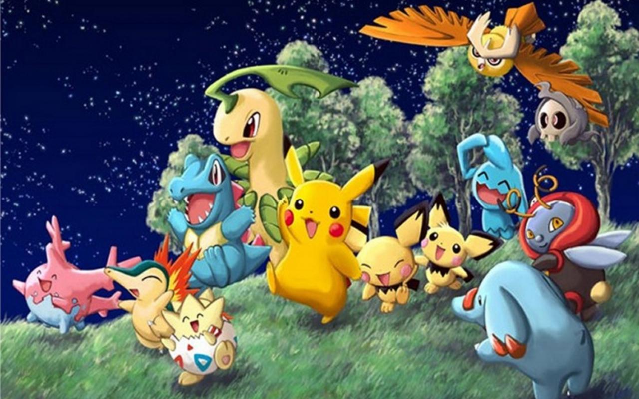 Free Download Pokemon Backgrounds Wallpaper 1280x800 46873 1280x800 For Your Desktop Mobile Tablet Explore 37 Johto Background Johto Background