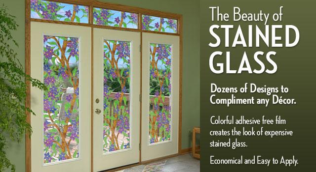 Decorative Window Film Decorative Window Film Diy 640x350