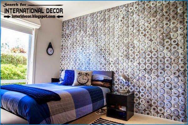 Cool wallpapers for teen boys wallpapersafari for Cool bedroom wallpaper designs