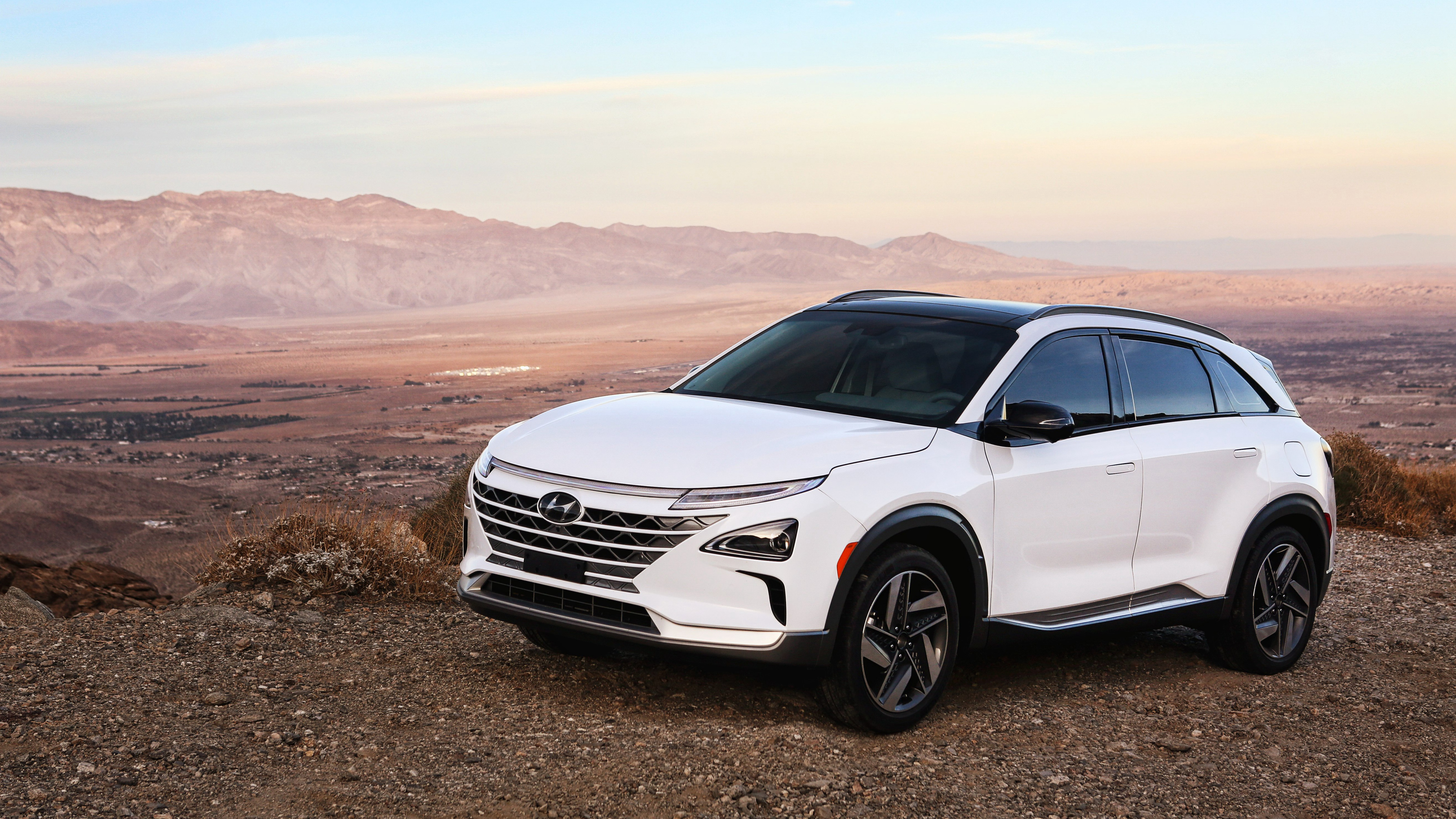 Hyundai Nexo CES 2018 4K 2 Wallpaper HD Car Wallpapers ID 9389 4096x2304