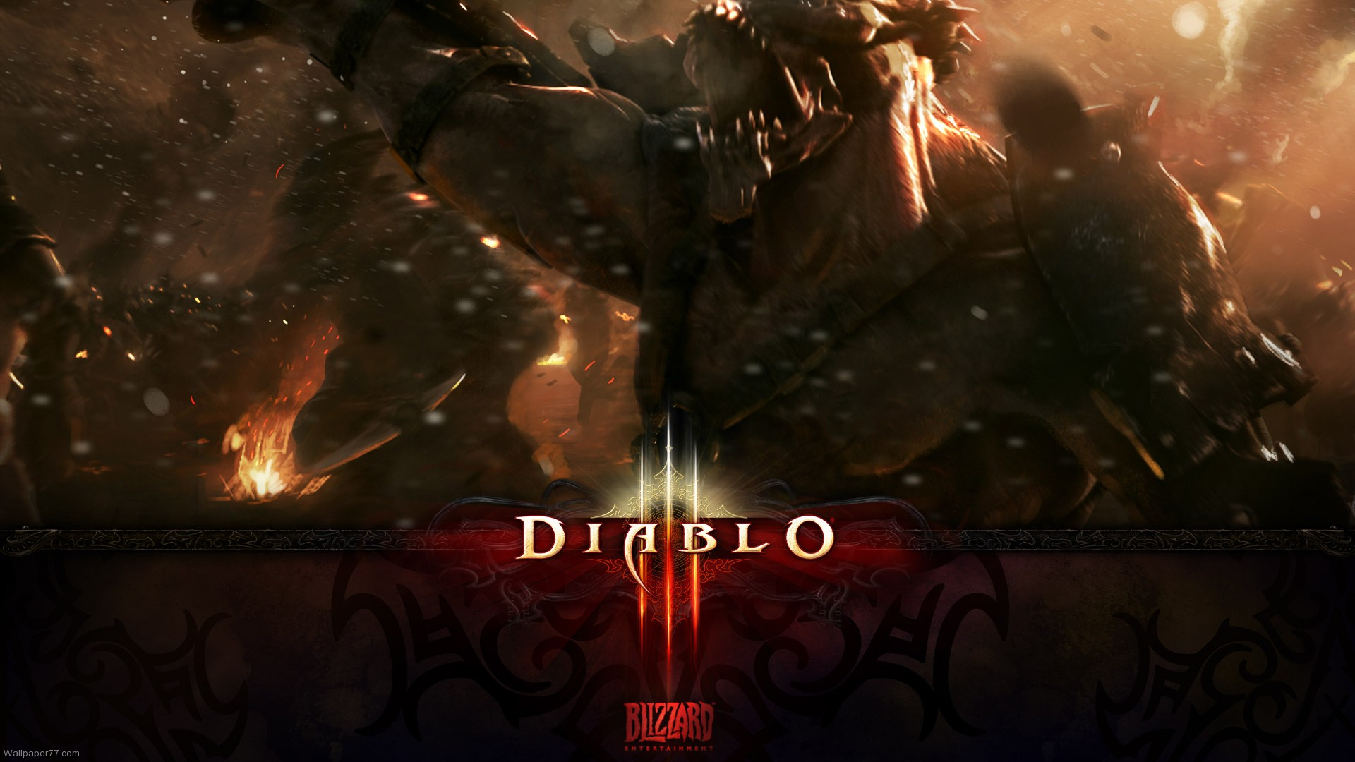 Diablo 3 Barbarian Wallpaper