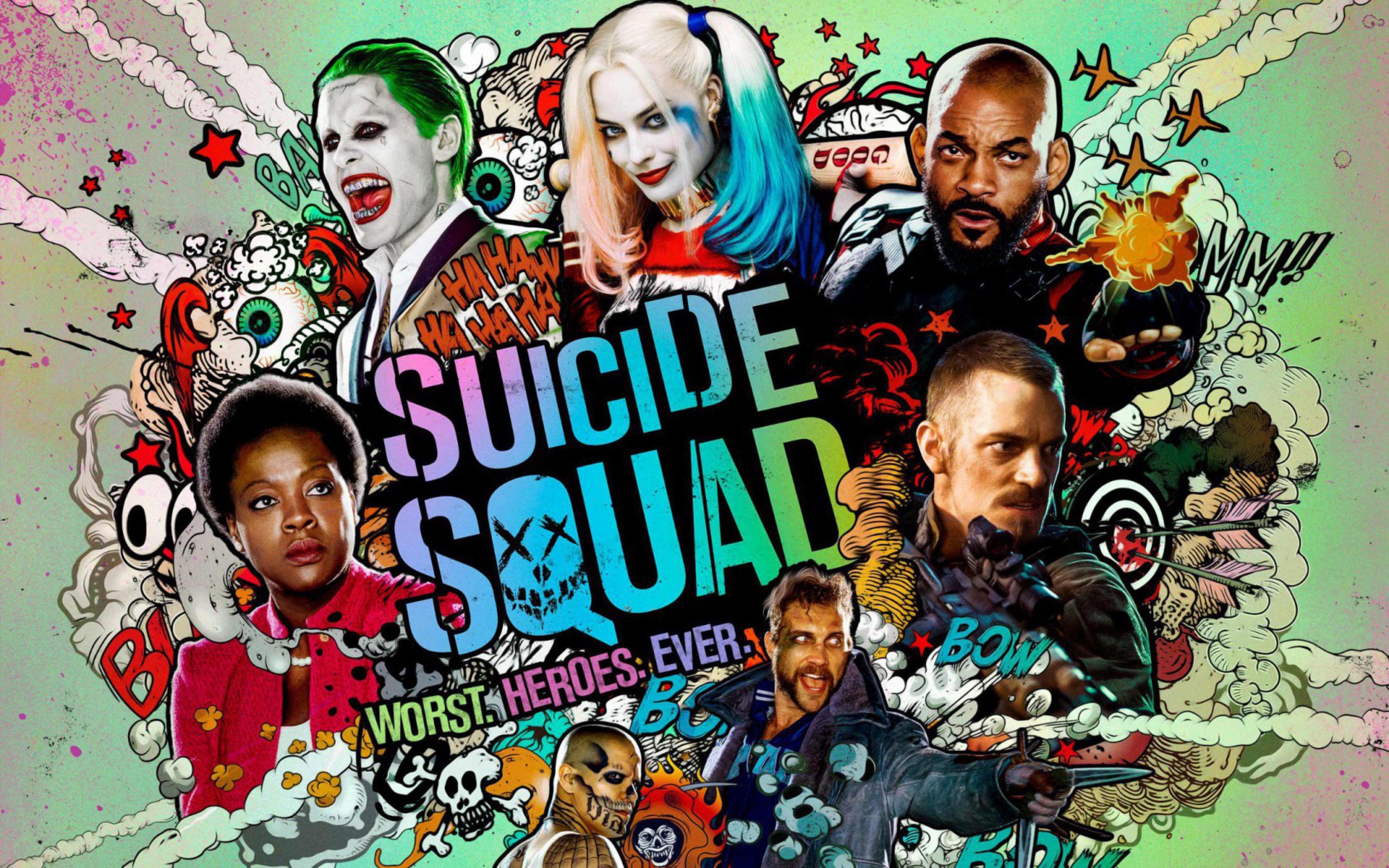 Suicide Squad wallpaper 15 3840x2400