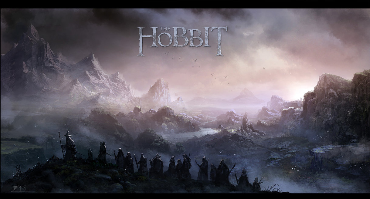The Hobbit by ChaoyuanXu 1219x656