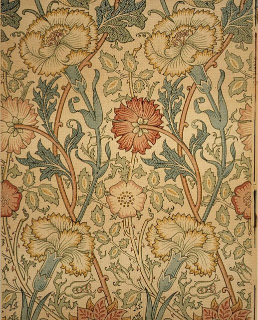 ART ARTISTS William Morris wallpaper textiles 517x640